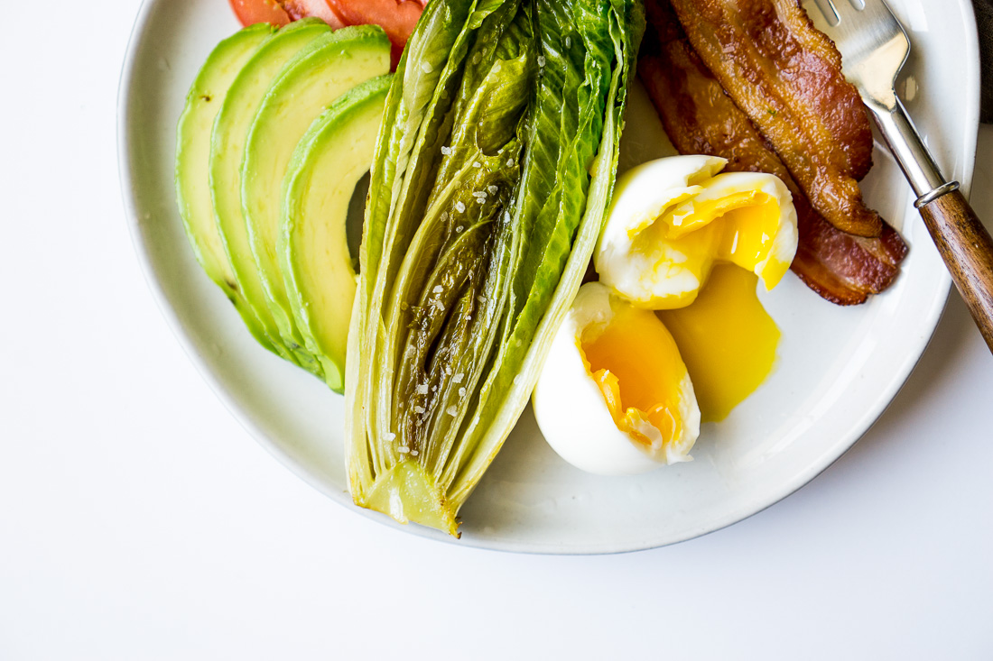 Low Carb Breakfast Plate